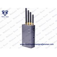 Wholesale 5 Band Portable 3G Cell Phone Signal Jammer HS Code 8543709200 Black from china suppliers