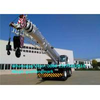 Wholesale Heavy Construction Machinery RT80 80 Ton All Wheel Drive Big Rough Terrain Tractor Crane from china suppliers
