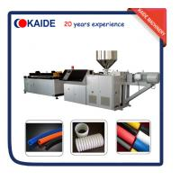 Wholesale PE Single wall corrugated pipe extruder machine supplier China from china suppliers