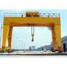 High Strength Workshop Gantry Crane Double Girder Heavy Lift FEM DIN Standard for sale