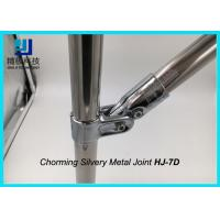 Wholesale Universal Metal Joints Chrome Pipe Connectors For ESD Workbench HJ-7D from china suppliers