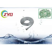 China Double Buckle Kitchen Pull Out Faucet Flexible Shower Hose Handheld Metal Chrome on sale