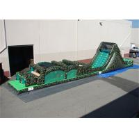 Wholesale 60 Feet Inflatable Obstacle Course , Inflatable Military Obstacle Course from china suppliers
