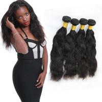 Wholesale Smooth Healthy Natural Hair Weave Extensions Double Layers Sewing OEM Service from china suppliers