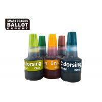 Quality Voting Quick Drying Self Inking Stamp Pad Ink / 40ml waterproof stamp ink Non - Toxic for sale