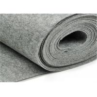 Wholesale Customized Thickness Recycled Felt Fabric For Carpets , Grey Non Woven Felt from china suppliers
