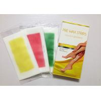 Wholesale 15 flavors! Ready to use cold wax strip for  hair removal !factory price, free sample from china suppliers