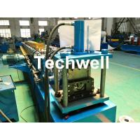 Wholesale Round Gutter Roll Forming Machine With PPGI Aluminum Forming Material , 0-15m/min from china suppliers