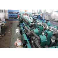 China CZ Purlin Roll Forming Machine , Steel Roll Forming Machine With Hydraulic Decoiler on sale