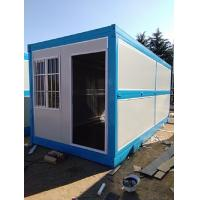 China Fire Proof Foldable Container House , Steel Prefab Shipping Container Homes on sale