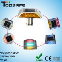 Wholesale Solar Cat Eye Reflective Road Stud with 3m Reflector from china suppliers
