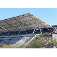 Quality Adjustable Tilt Solar Panel Rail Mounting System , PV Solar Mounting Systems for sale