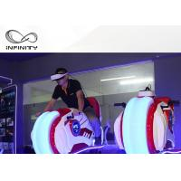 Wholesale Infinity VR Motorcycle Motion Ride 9D VR Simulator Game Machine Electric Cylinder Motion from china suppliers