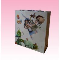 Wholesale custom promotional recyclable full color paper bag distributors with all kinds size from china suppliers