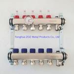 China Radiant Floor Heat PEX Manifolds 4 Circuit for sale