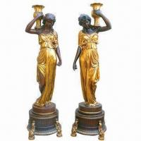 Wholesale Polyresin Statue Decoration, A Couple, Handmade Processing, Best Sellers from china suppliers