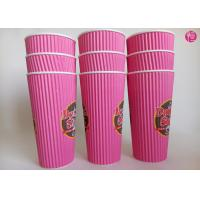Wholesale 24oz Ripple Wall Paper Hot takeaway coffee cup Full Color Printed from china suppliers