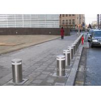 Wholesale Remote Control Automatic Bollard / Hydraulic Driveway Security Bollard from china suppliers