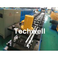 Wholesale Galvanized Steel Guiding Column Shutter Door Roll Forming Machine Thickness 1.5-3.0mm from china suppliers