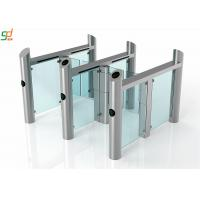 Wholesale IP65 Automatic Turnstiles High Speed Glass Door Swing Barrier Gate from china suppliers