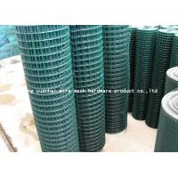 Quality Stylish Ornamental High Security Wire Fence Pvc Coated Green Color RAL6005 for sale