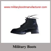 Wholesale Wholesale China-Made Glossy Leather British Army Style Military DMS Ankle Boot from china suppliers