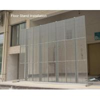 Buy cheap P6  Transparent Glass Screen Led Display Window Wall Animation Advertising from Wholesalers