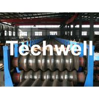 Wholesale Galvanized Plate / Steel Corrugated Sheet Roll Forming Machine for For Wall Panel from china suppliers