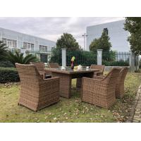 Wholesale Big Size Comfortable Rattan Outdoor Sofa Dining Set Wicker Furniture from china suppliers