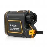 Portable 8X 24mm 3-1000m Laser Range Finder Distance Meter Telescope for Golf,