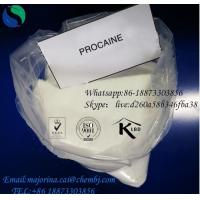 China Procaine Anti - Pain Local Anesthetic Drugs Procaine Hcl/Procaine  59-46-1 for sale