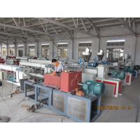 Wholesale Fiber Reinforced Soft PVC Pipe Extrusion Machine 80-450kgs / h from china suppliers