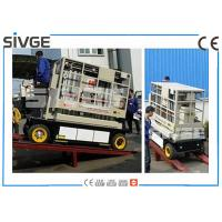 Wholesale Indoor / Outdoor Hydraulic Work Platform Lift Self Propelled 10m Height from china suppliers