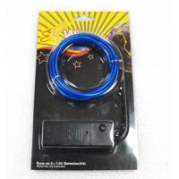 China 2.3mm 3.2mm High Brightness Battery Chasing EL wire kit on sale