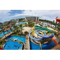 Wholesale Blue Customized Hotel Pool Water Slides 0.3-0.6m Water Depth from china suppliers