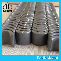 Wholesale Industrial Ferrite Arc Magnet For PMSM Motor ROHS SGS ISO9001 Certification from china suppliers