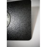 Wholesale Luxurious SS Metal Member Cards Laser Engrave Etch Logo Leather Pattern from china suppliers