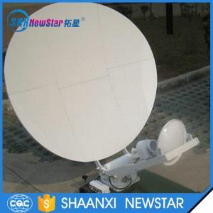China 1m small ku band automatic tracking carbon fiber satellite dish antenna on sale