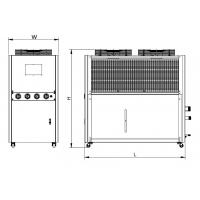 China CE Standard Air Cooled Water Chiller Rapid Heat Transmission TCA Series on sale