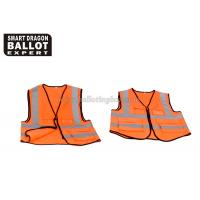Wholesale Comfortable Waterproof PVC Reflective Safety Vest Customized Size from china suppliers