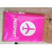 Wholesale Waterproof Soft PVC Passport Holder With Cartoon / Sport / Company Logos from china suppliers