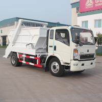 Wholesale Swept - body Refuse Collector Swing Arm Skip Loader Garbage Truck In Good Condition from china suppliers