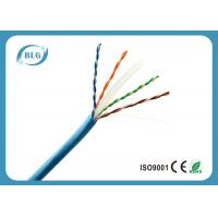 Quality 8 Cores Cat6 Shielded Ethernet Cable , Outdoor Cat6 Cable 1000 FT Eco Friendly for sale