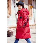 China Bilemi long thick hooded snowsuit boy down coat parka kids winter jacket for sale