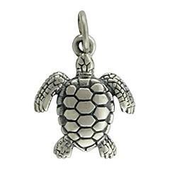 Wholesale Unique Beautiful Antique Silver Original Sea Turtle Pendant for Children Boy from china suppliers