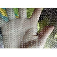 Knitted SS Wire Mesh For Gas-Liquid Filter , Hole Size 2x3mm 4*5mm