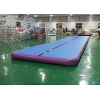 Wholesale Outdoor Air Track Gymnastics Mat Training Set , Inflatable Mattress Sport Air Track from china suppliers
