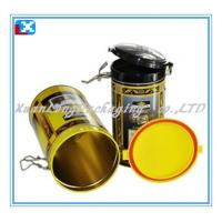 Wholesale Round Tin Box with Plastic Lid from china suppliers