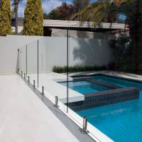 Wholesale Tempered Swimming Pool Glass Fence / Glass Railing / Glass Balustrade from china suppliers