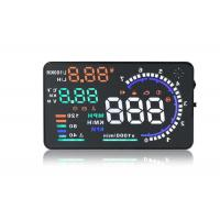 China 5.5 Inch Screen Obdii / OBD2 Elm327 Diagnostic Interface Bluetooth Hud Head Up Display on sale